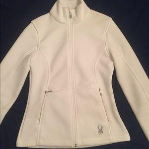 Spyder Women's Core Sweater White Full-Zip
